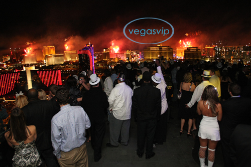 lavish New Year's Eve in sin city