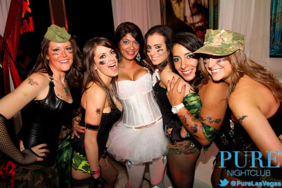 halloween nightlife Las Vegas