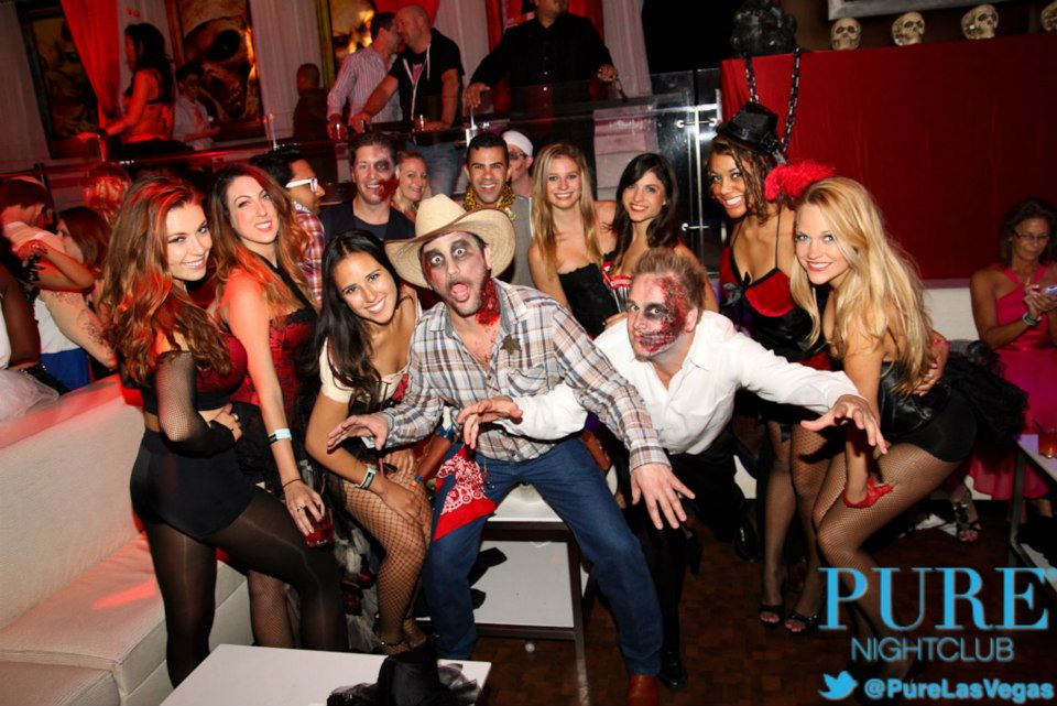pure halloween party Las Vegas