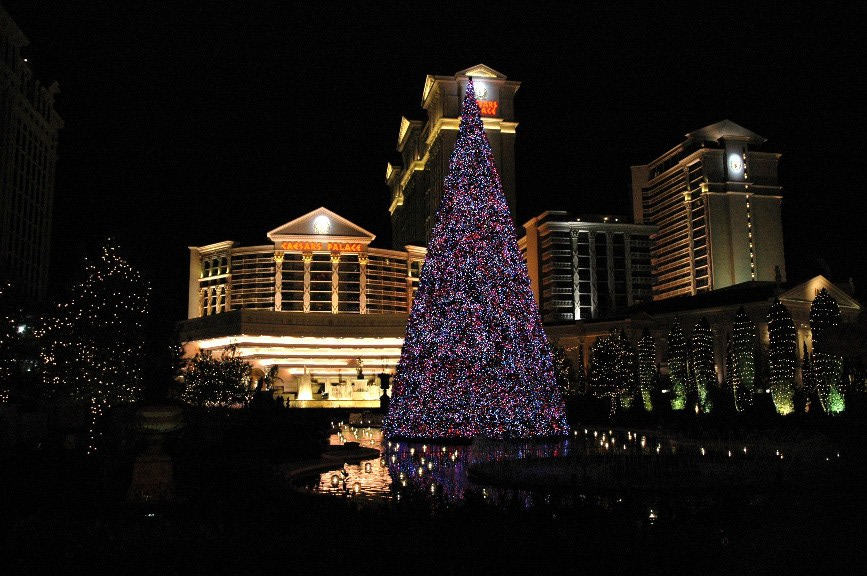Vegas Christmas Tree